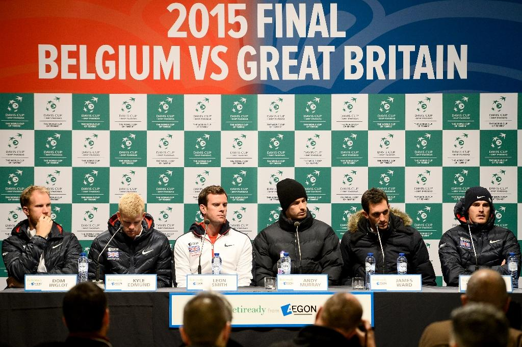 Davis Cup debut for Edmund, alongside Murray