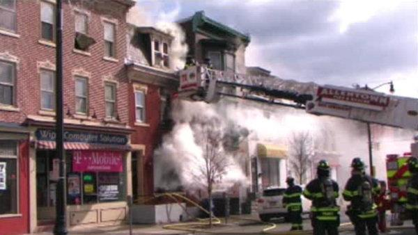 20 homeless following Allentown apartment fire