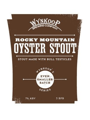 Wynkoop Brewing Company: Rocky Mountain Oyster Stout