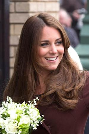 Catherine, Duchess of Cambridge visits The National Fishing Heritage Centre during her official visit to Grimsby on March 5, 2013 -- Getty Images