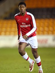 Chuks Aneke will remain at Crewe for another month
