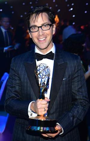Dan Bucatinsky poses at the 2013 Creative Arts Emmy Awards Governors Ball held at the Los Angeles Convention Center on September 15, 2013 in Los Angeles -- Getty Images