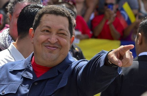 <p>Venezuela's President Hugo Chavez, pictured in October 2012, plans to return to Cuba Tuesday to continue treatment for cancer, he said in a letter to the country's National Assembly.</p>