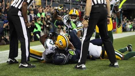 Seahawks and Packers