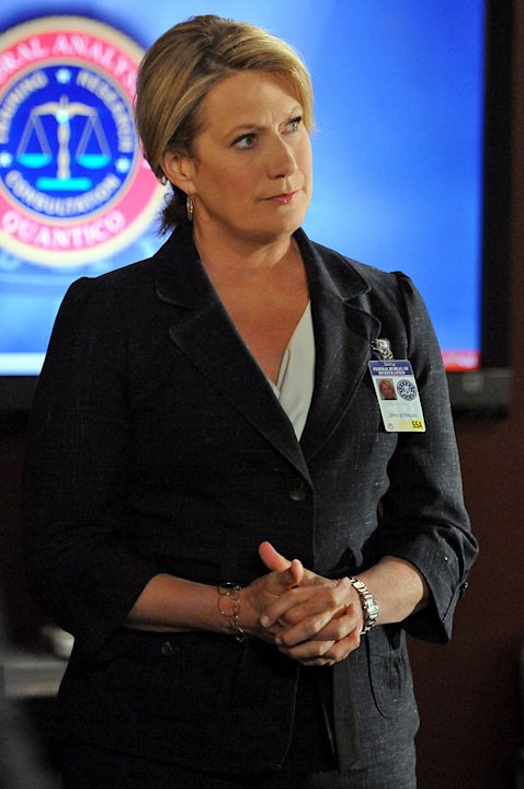 """It Takes A Village"" -- FBI Section Chief Director Erin Strauss (Jayne Atkinson) is concerned when the BAU team is questioned by a Senate Committee for their retaliatory actions in the wake of Prentis"