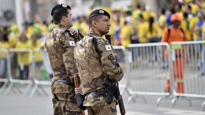 Biggest security detail in Brazil history at final