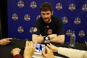NBA: All Star Game-Player Press Conferences