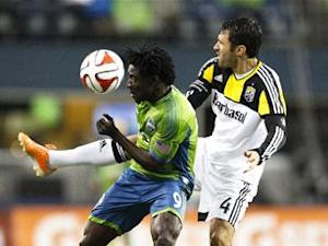 Seattle Sounders 1-2 Columbus Crew: Meram goal punishes 10-man Sounders