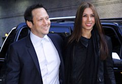 Rob Schneider and Patricia Azarcoya Schneider | Photo Credits: Donna Ward/Getty Images