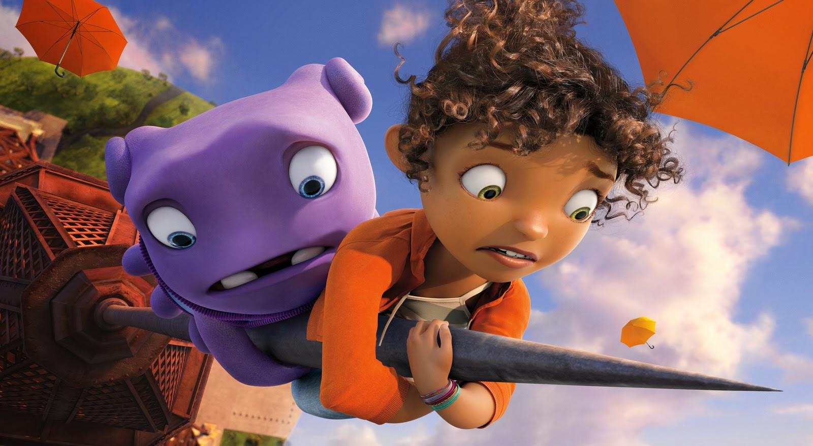 DreamWorks Animation's Stock Soars on 'Home' Success