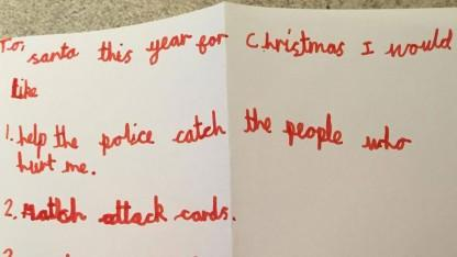 7-Year-Old Boy Who Was Shot Asks Santa Claus For Helping Tracking Down His Attackers