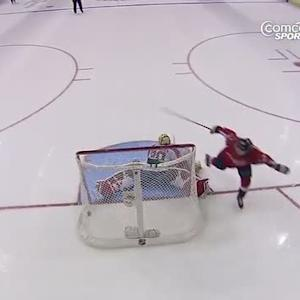 Mikhail Grabovski tucks it past Clemmensen