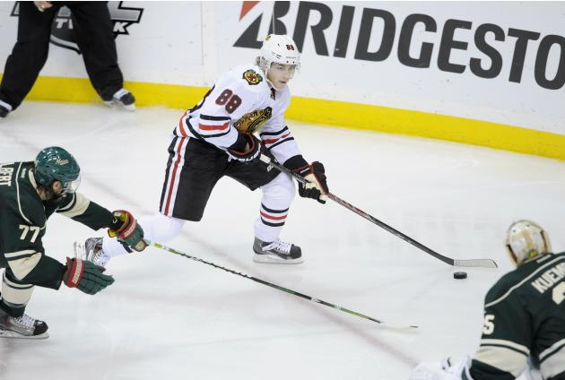 Chicago Blackhawks v Minnesota Wild - Game Four