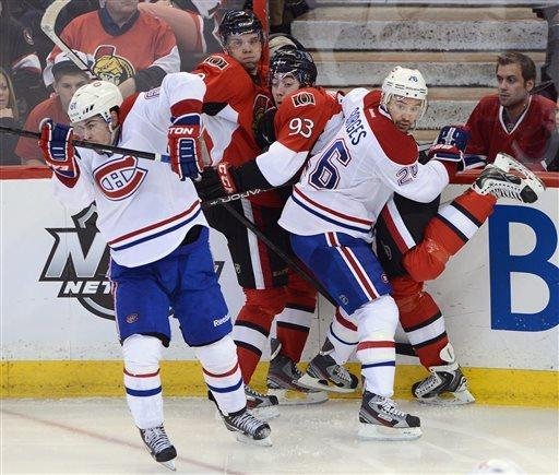 Senators pound Canadiens 6-1, take 2-1 series lead