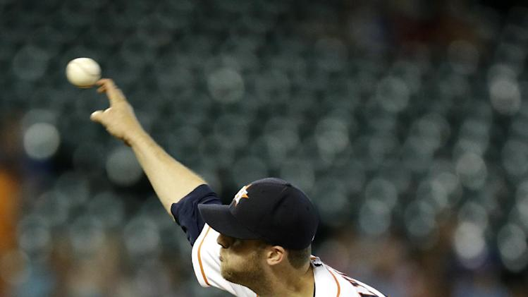 Dominguez's slam leads Astros past Brewers 10-1