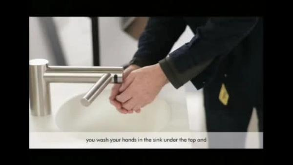 Vacuum cleaner inventor introduces new hand dryer