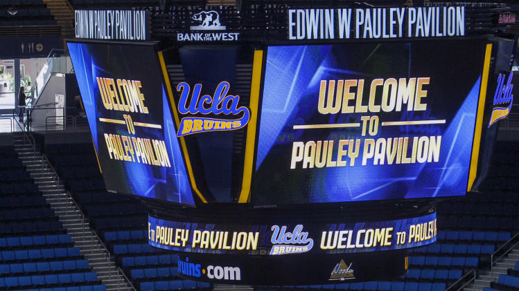 UCLA's new Pauley Pavilion ready for its close-up