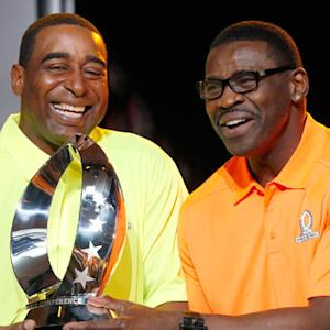 Cris Carter and Michael Irvin share their drafting strategy