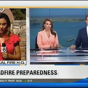 Cal Fire prepares for wildfires ahead of hot, windy weather