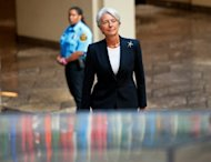 International Monetary Fund chief Christine Lagarde, pictured in 2011, told Egypt's new president Mohammed Morsi that the crisis lender was ready to help Cairo, an IMF spokeswoman said Friday