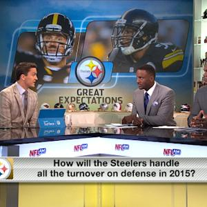 How will the Pittsburgh Steelers adjust to the losses on defense?