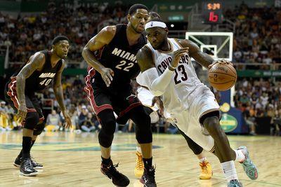 NBA Christmas Day schedule and results: LeBron James returns to Miami