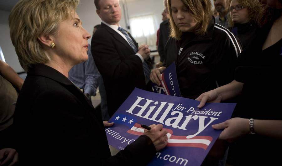 Hillary Clinton's Campaign Officially Dropped Her Maiden Name. Here's Why That Matters.