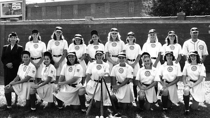 """This image released by Columbia TriStar Home Video shows a scene from the movie """"A League of Their own."""" Memorable movies, including """"Breakfast at Tiffany's,"""" """"Dirty Harry,"""" """"A League of Their Own"""" and """"The Matrix"""" are being preserved for their enduring significance in American culture as The Library of Congress announces, Wednesday, Dec. 19, 2012, the slate of films it will induct into the National Film Registry. (AP Photo/Columbia TriStar Home Video)"""