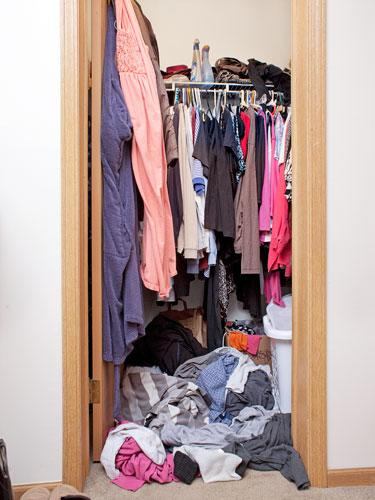 Linda's Clothing Clutter Challenges