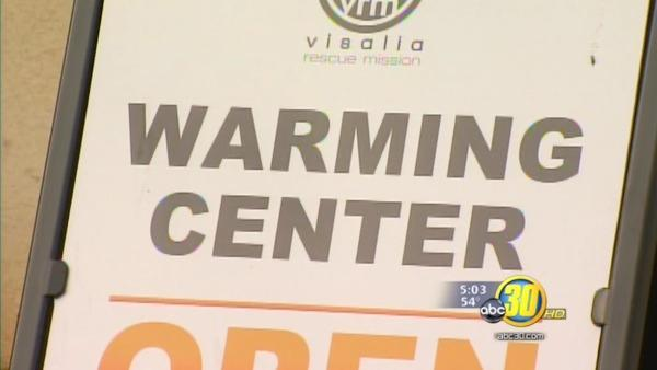 Visalia Rescue Mission sees record numbers in cold weather