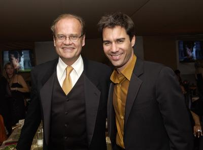Kelsey Grammer and Eric McCormack Elton John AIDS Foundtation In-Style Party Hollywood, CA 3/24/2002