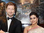 Kajol and Gerard Butler grace Robert Dubuis boutique opening in Dubai