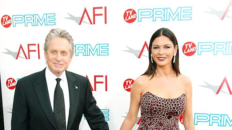 AFI Lifetime Achievement Awards Michael Douglas and Catherine Zeta-Jones