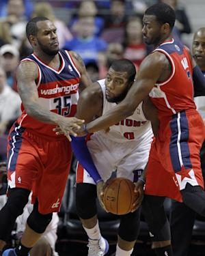 Pistons beat Wizards in preseason