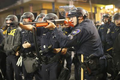 Unarmed people are much more likely to be killed by police when they're not white