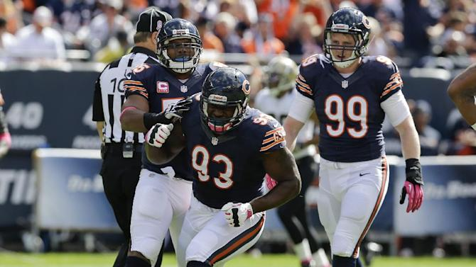 Bears DT Collins to miss rest of season