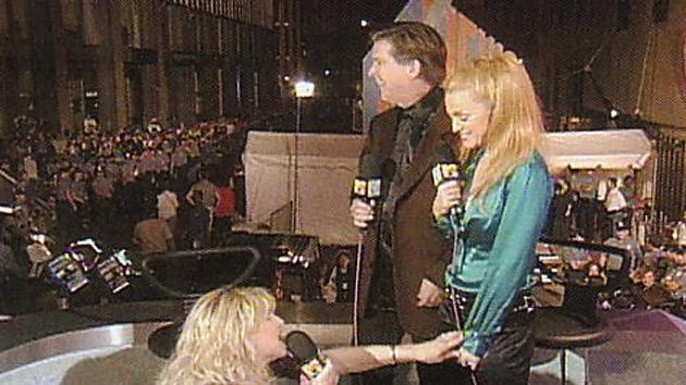 Courtney Love Doesn't Let Madonna & Kurt Loder Finish (1995)