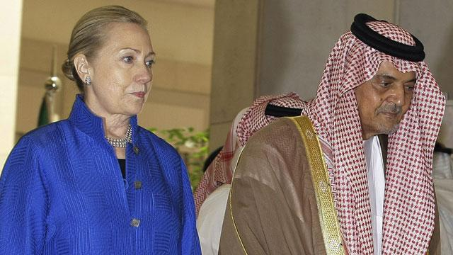 Secretary of State Hillary Clinton Pushes Gulf Security and Aid for Syria