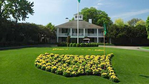 Augusta National clubhouse
