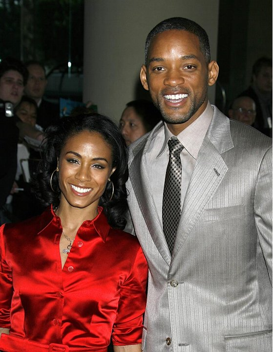 Jada Pinkett Smith Will Smith 2007