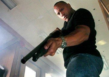 "Dwayne ""The Rock"" Johnson in MGM's Walking Tall"