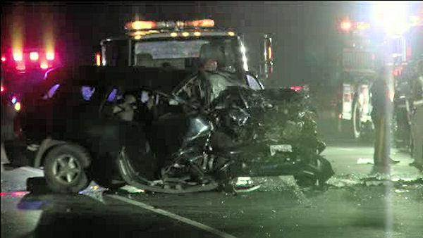 Minivan driver killed by SUV going wrong way