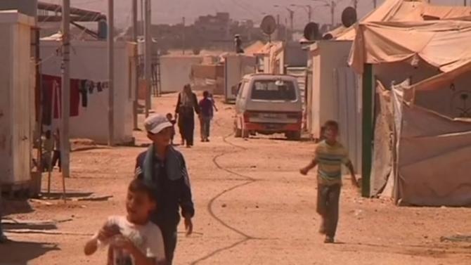 Syrians refugees react to potential U.S. military strike
