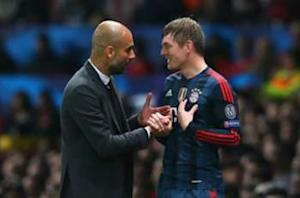 Pep Guardiola: I want Kroos to stay