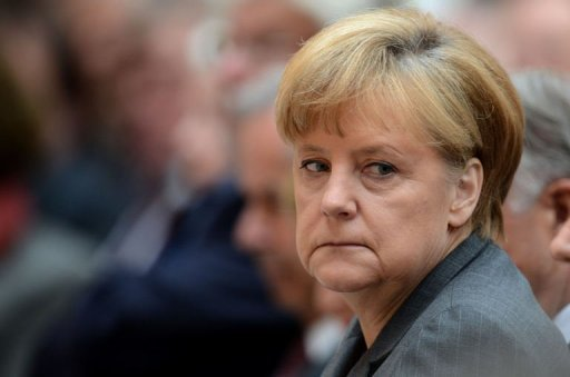 &lt;p&gt;German Chancellor Angela Merkel has called for better financial market regulation, three days before she was due to host chiefs of the World Bank, IMF and other global economic organisations in Berlin.&lt;/p&gt;