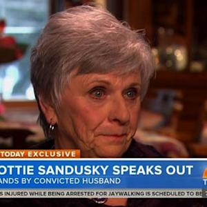 Sandusky's Wife Breaks Her Silence