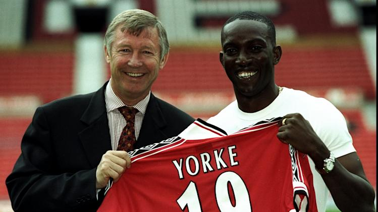 Dwight Yorke, Alex Ferguson