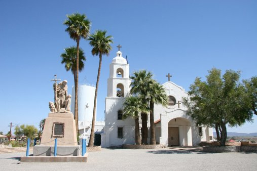 <p>St. Thomas Mission in Yuma, Ariz. The city has the highest unemployment rate in the nation. (Photo credit: iStockphoto)</p>