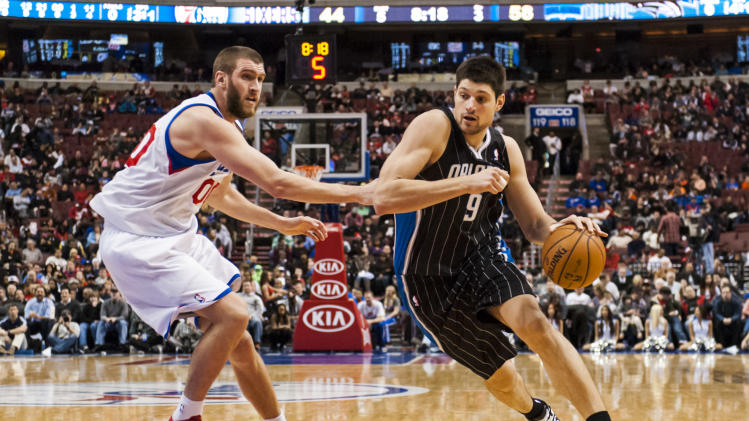 NBA: Orlando Magic at Philadelphia 76ers