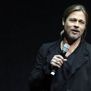 Brad Pitt promotes 'World War Z' - April 2013 -- Getty Premium